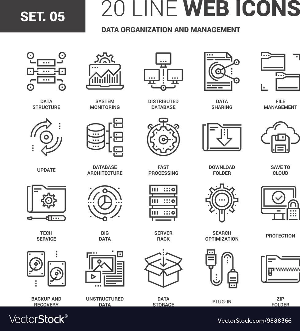 Data Organization and Management