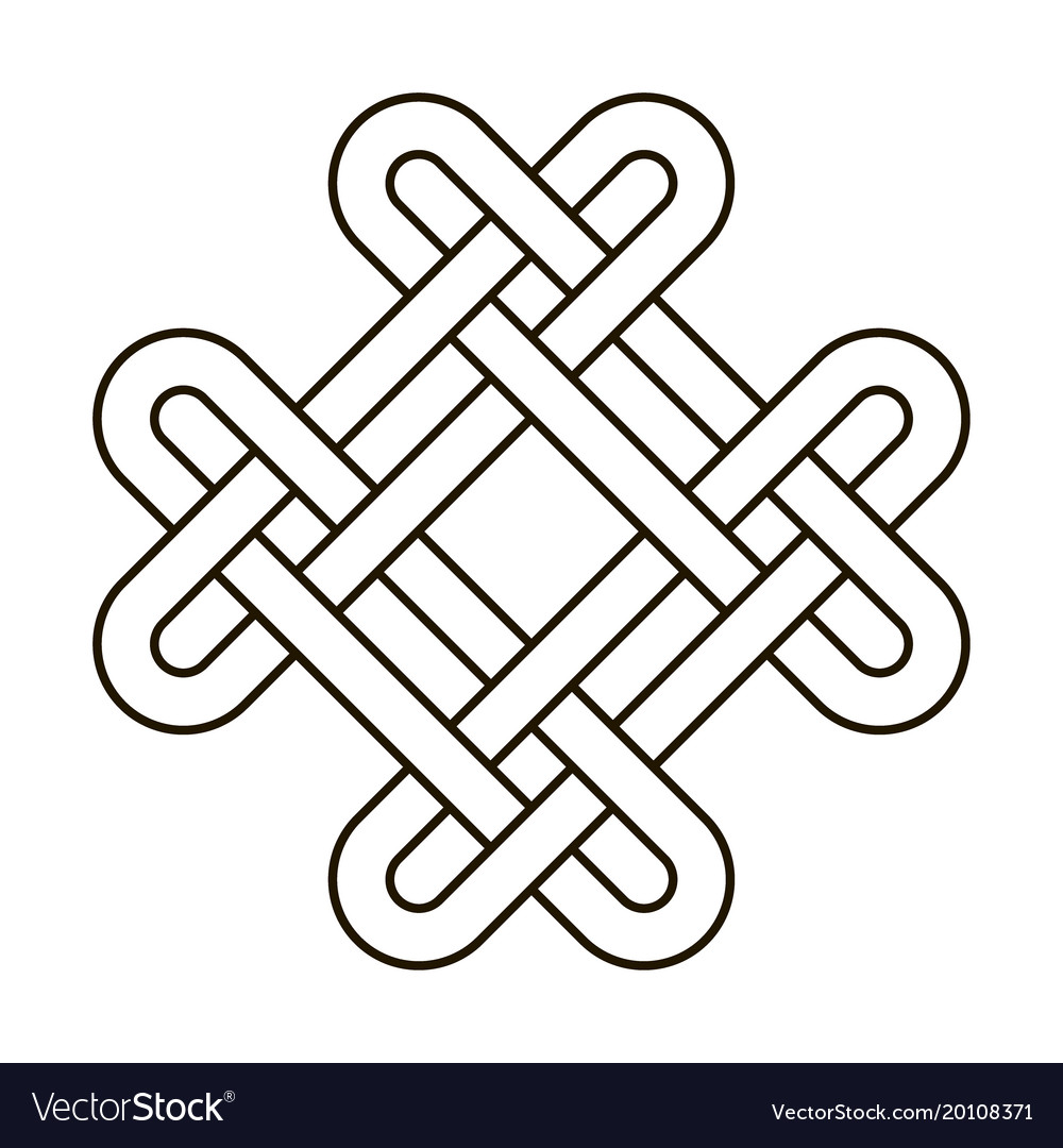 celtic knot geometric ancient cross tribal vector image rh vectorstock com celtic cross vector image celtic cross vector file