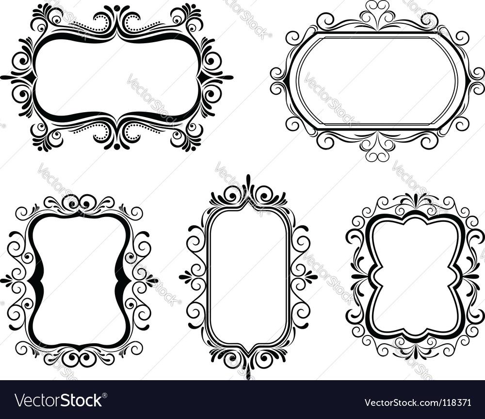 vintage frames royalty free vector image vectorstock rh vectorstock com frame vector png frame vector png