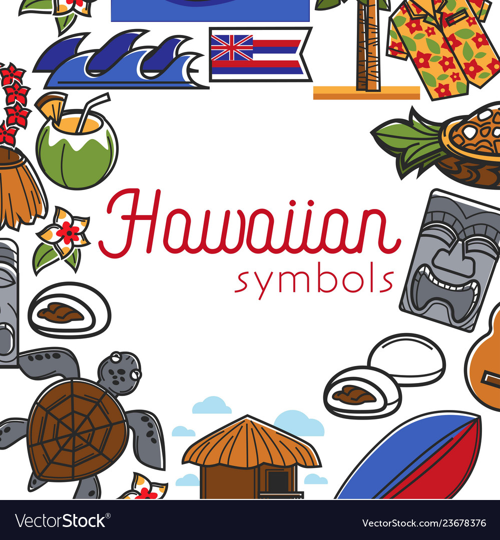 Hawaiian symbols food and culture travel to hawaii