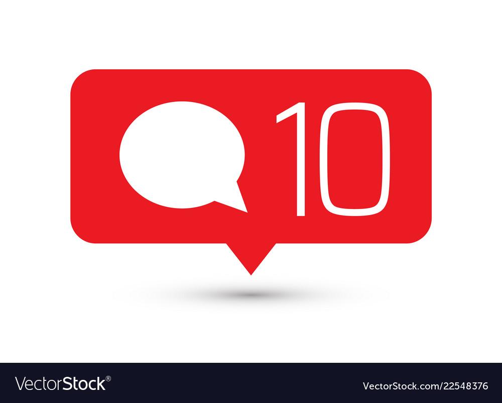 Social media icon comments comment button symbol