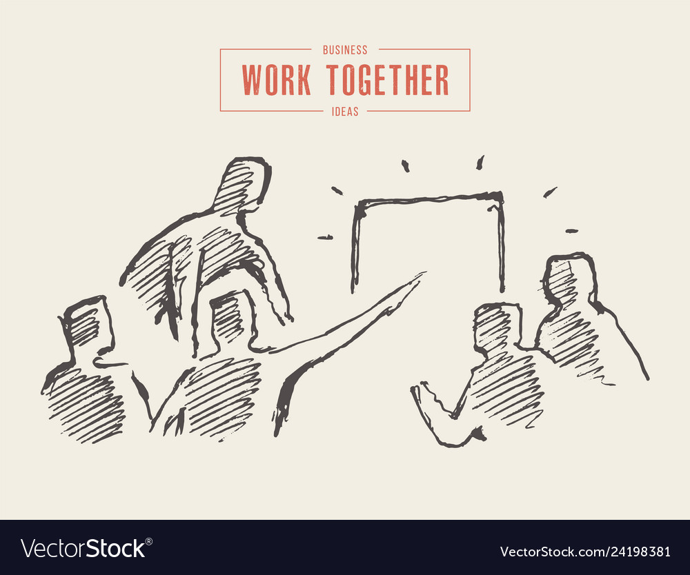 Business people meeting planning teamwork a