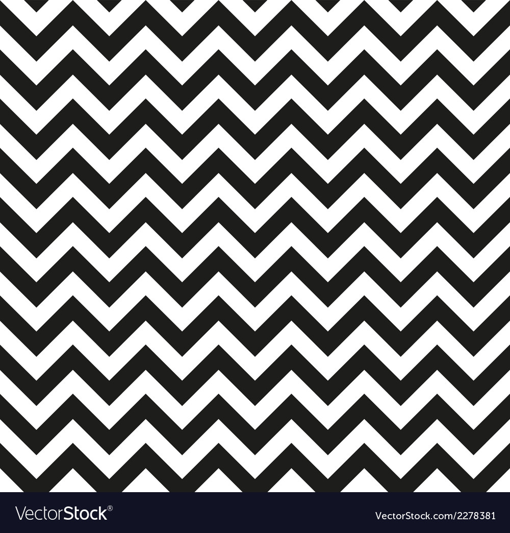 Chevron zigzag monochrome