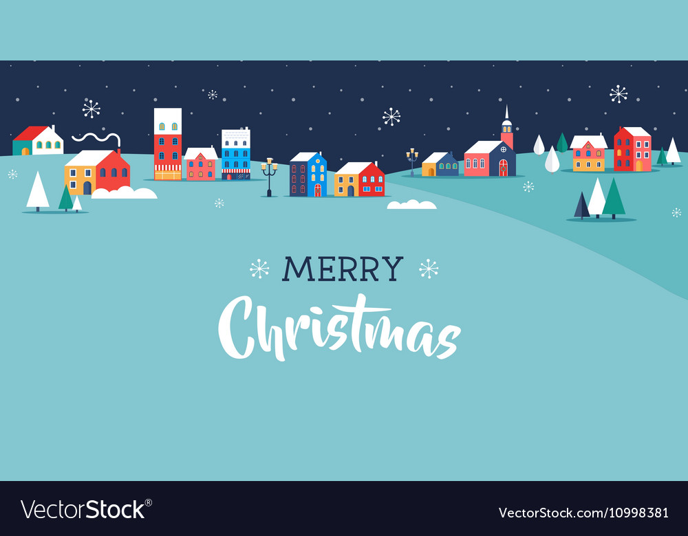 Merry Christmas greeting card poster and banner