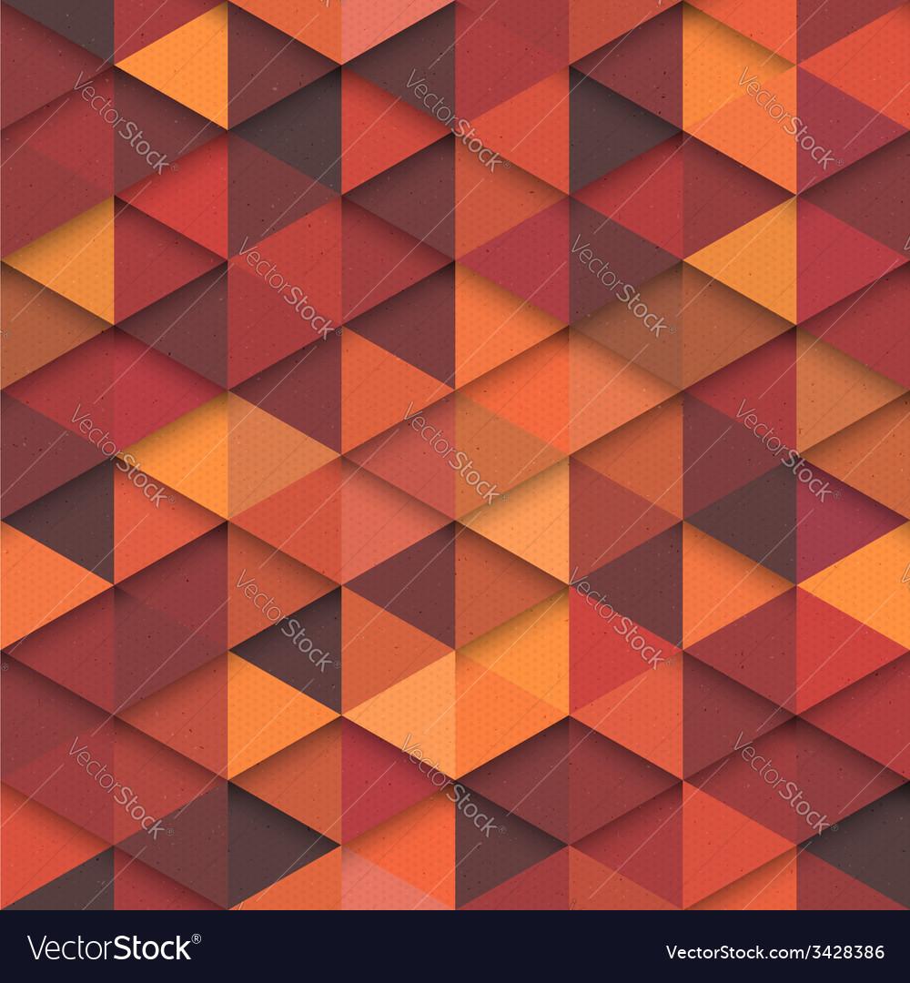 Seamless Orange Fashion Pattern