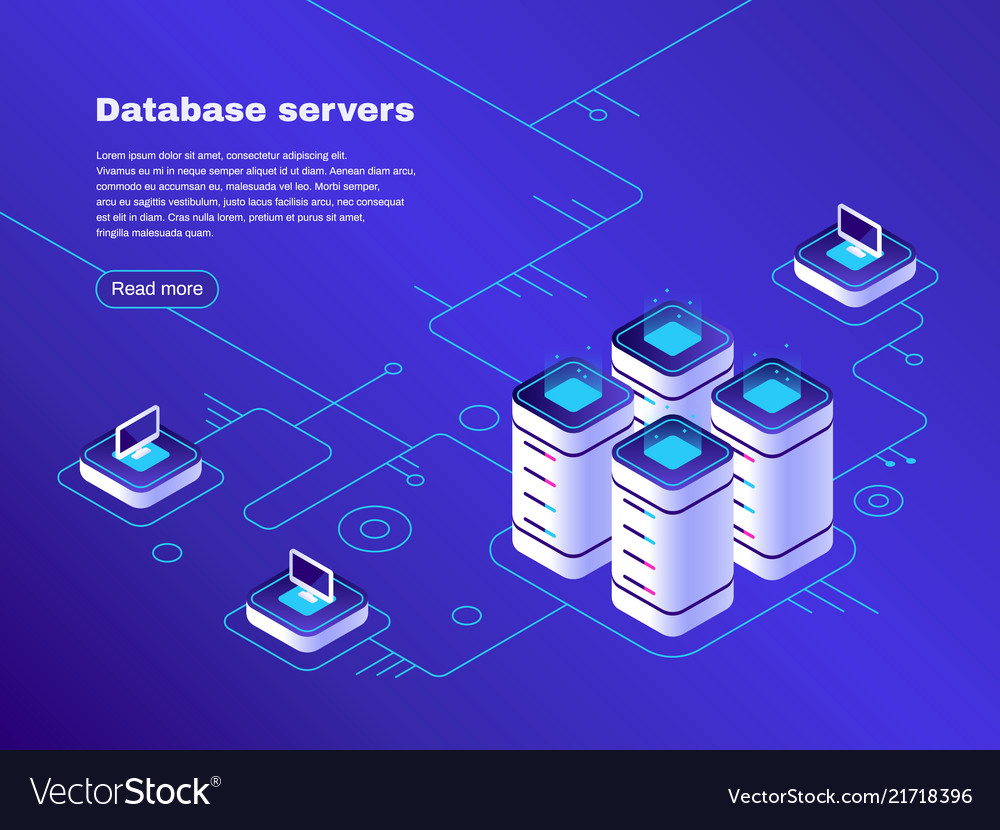 Database servers digital datacenter server