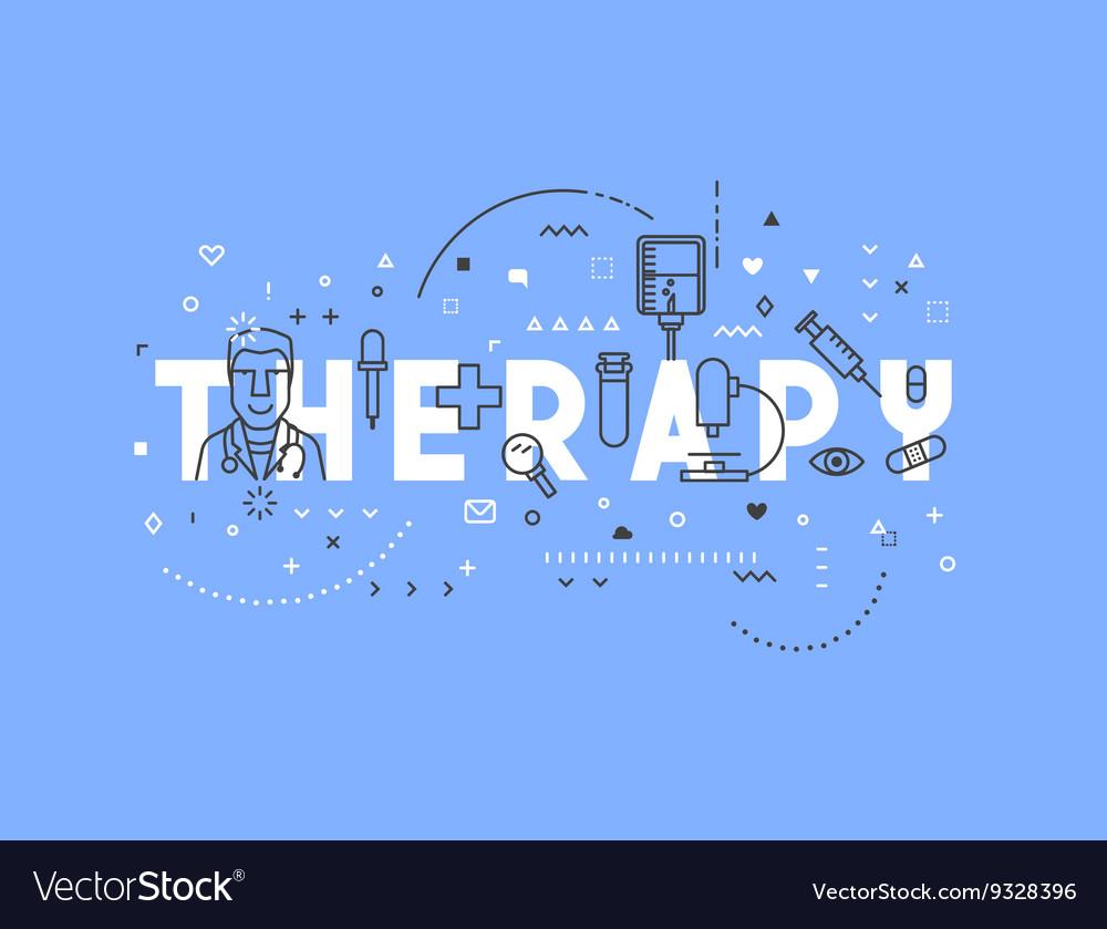 Medicine concept design Therapy