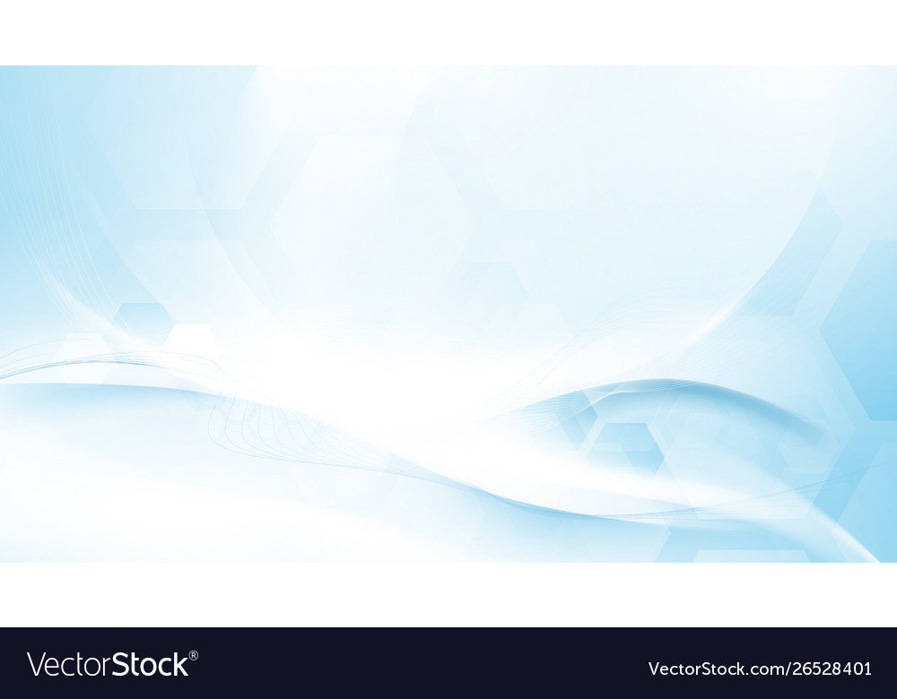 Abstract blue and white wavy futuristic background