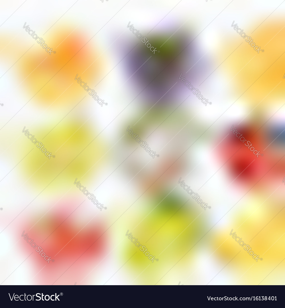 Set of fruit juice splash peach orange pear
