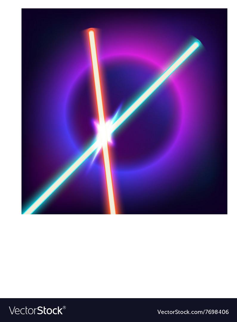 Neon swords Flash contact