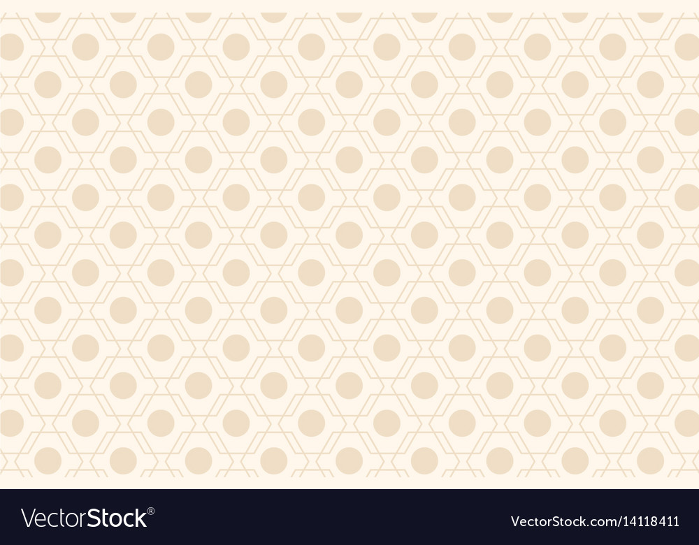 Beige abstract seamless geometric pattern