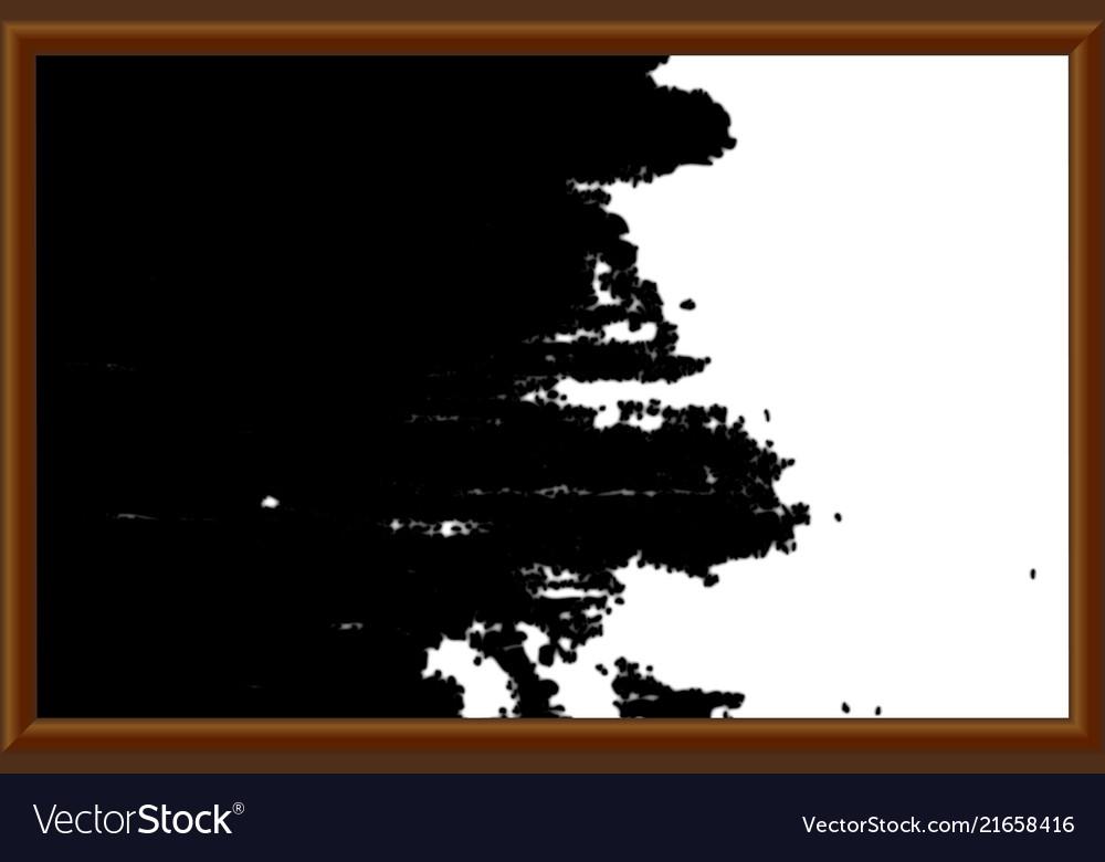 A school blackboard eps 10
