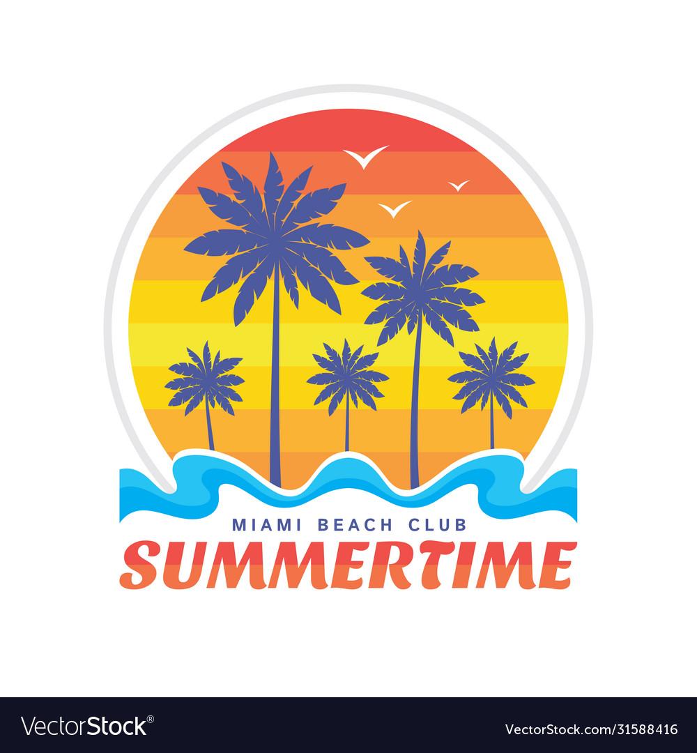 Summertime miami beach club