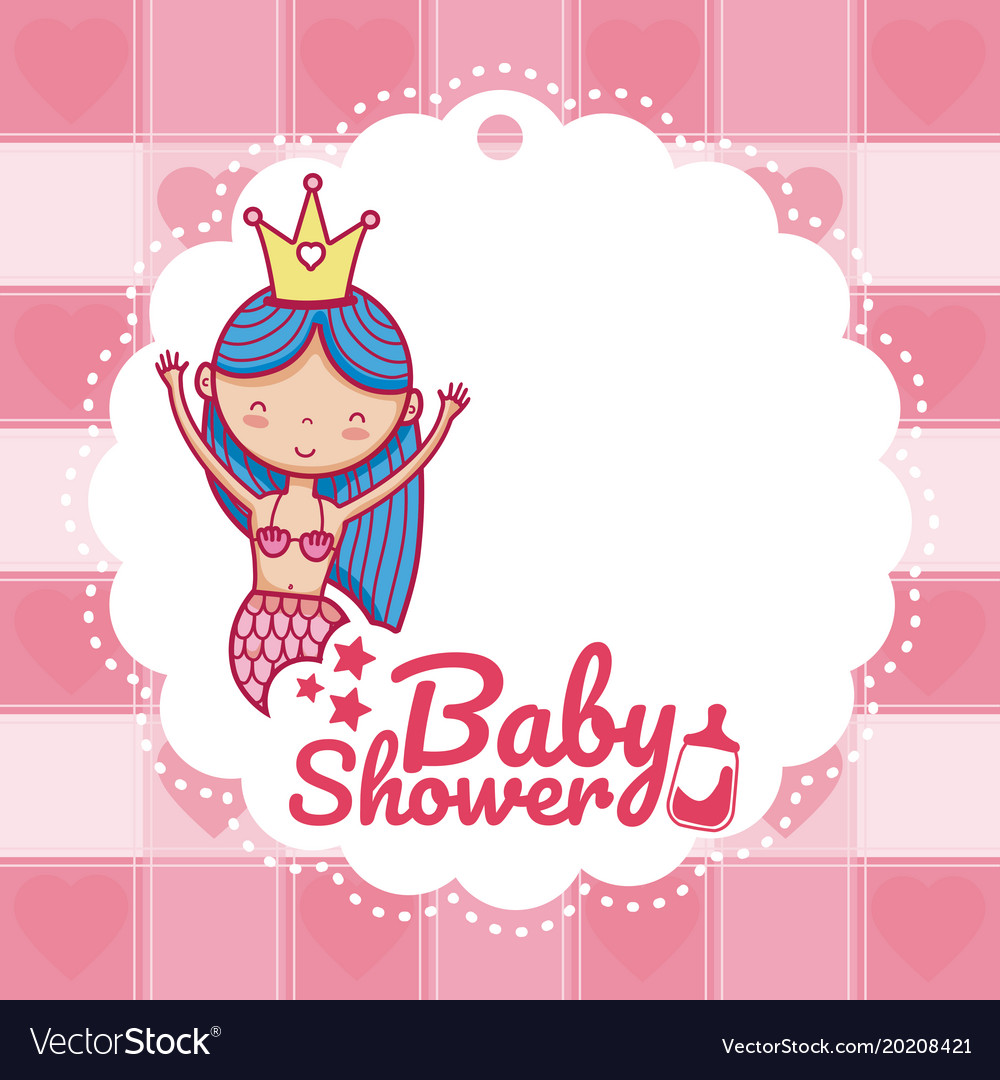 Baby shower invitation card royalty free vector image baby shower invitation card vector image stopboris Image collections