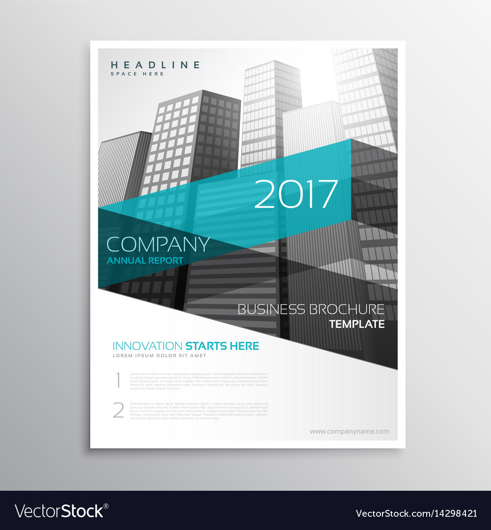 company brochure template word