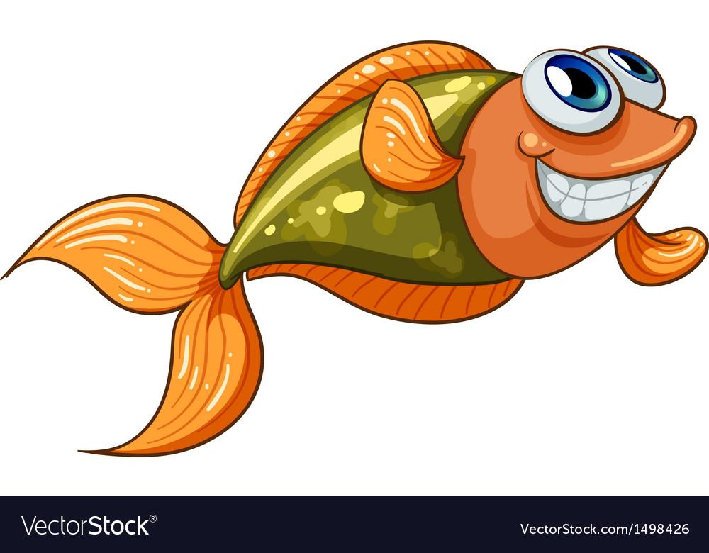 A smiling tiny fish