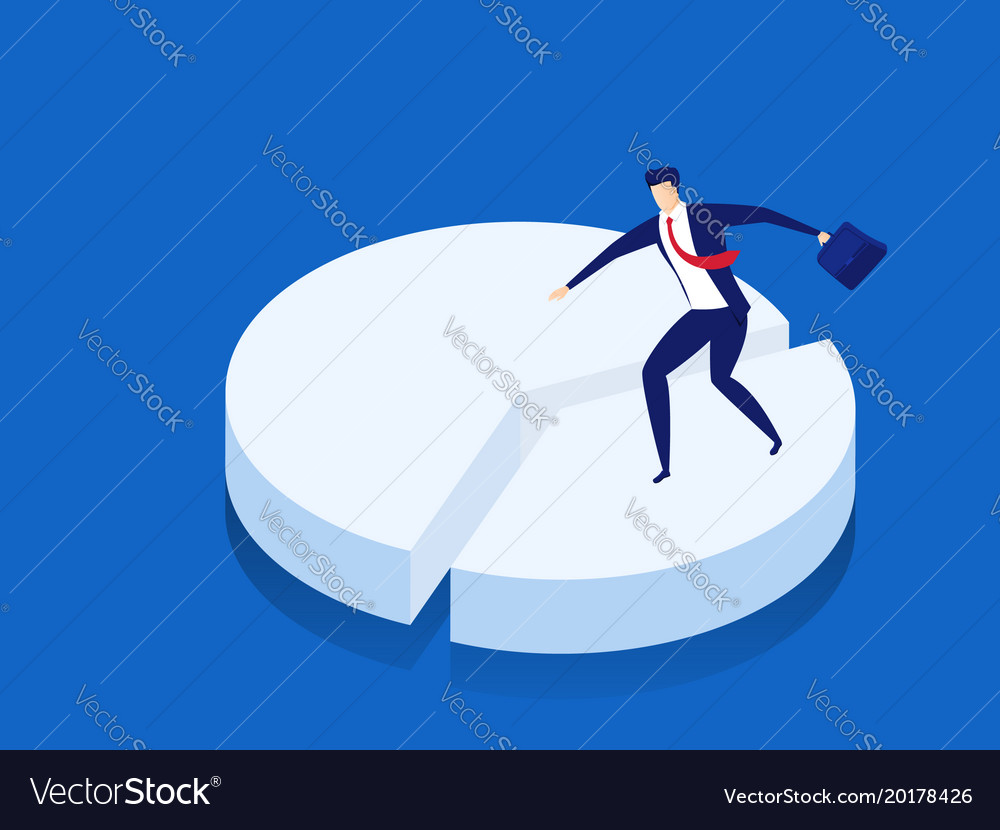 Business market share concept