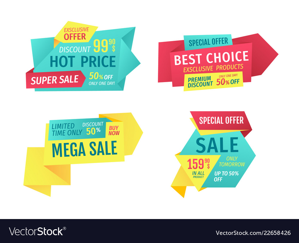Catchphrases For Shop Sale Advertisement Banners