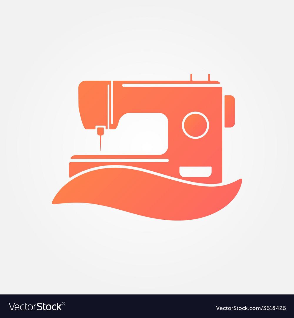 sewing machine logo symbol vector 3618426