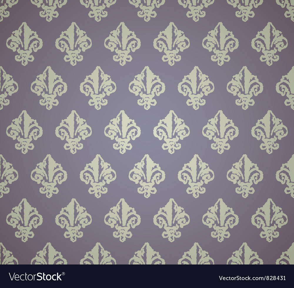 Background with a print vector image