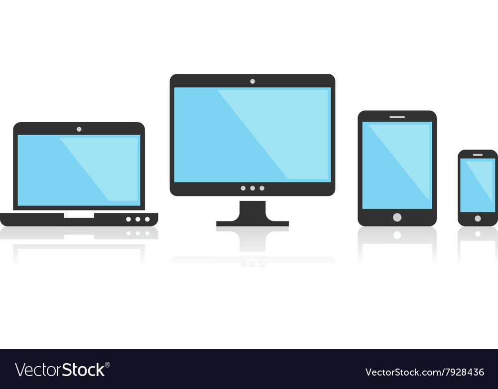 Multi Device Icons for presentation