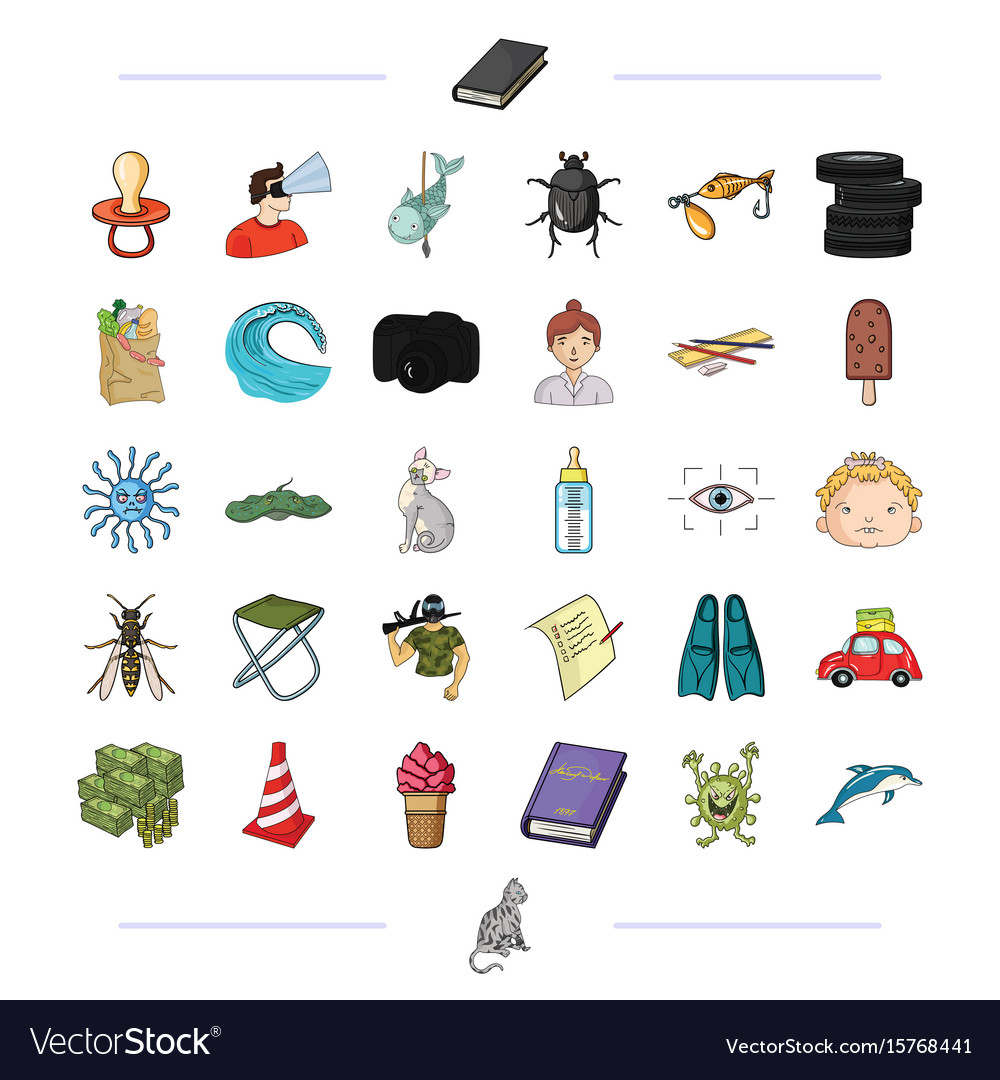 Leisure business hunting and other web icon in vector image