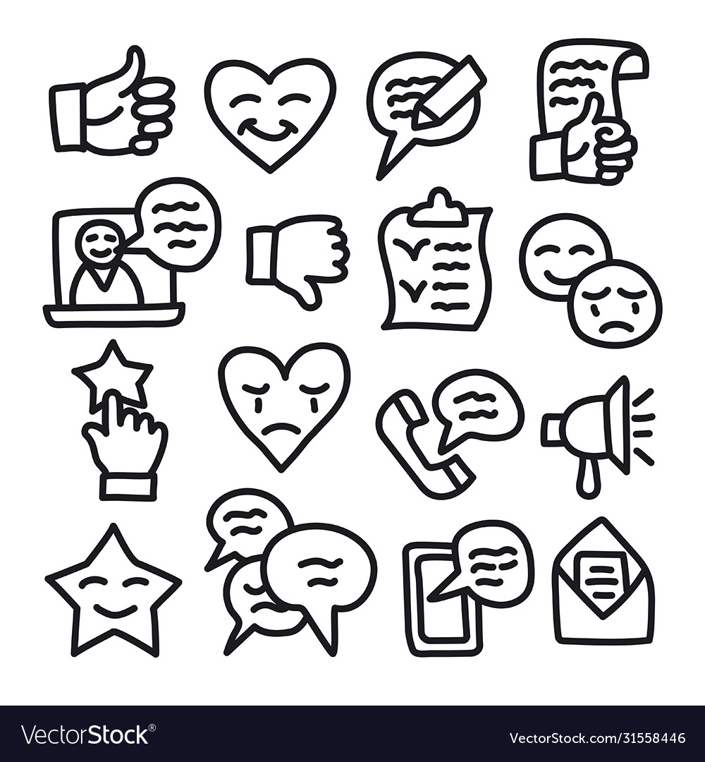 Relationship management icons