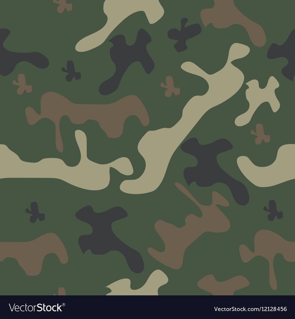 Seamless pattern camo
