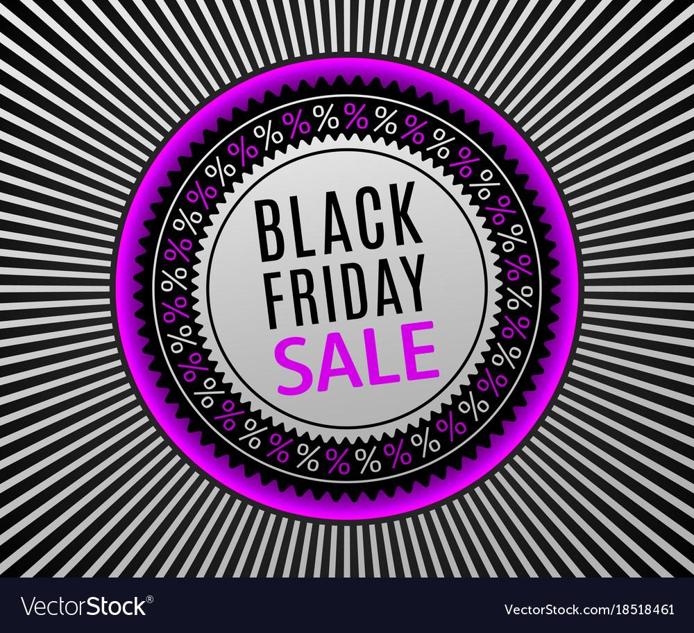 Black friday sale banner advertising poster
