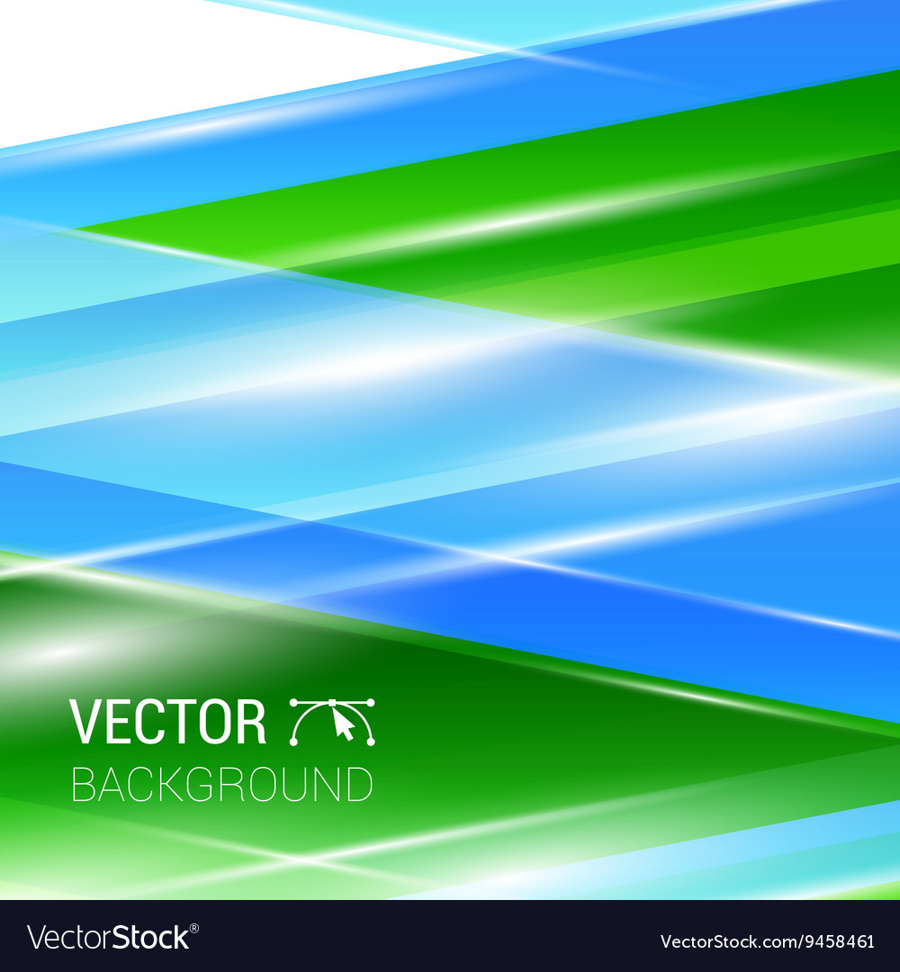 Colorful smooth twist wave light lines vector image