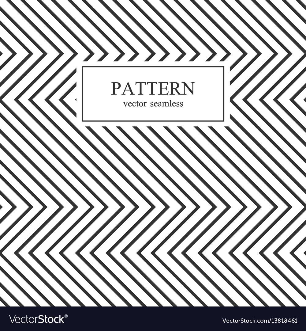 Zig zag seamless geometric pattern