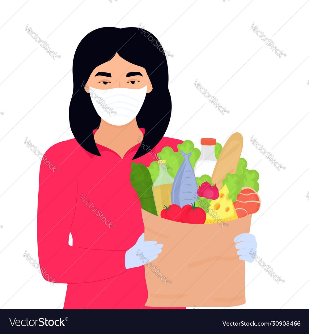 Covid19-19 coronavirus epidemic asian volunteer