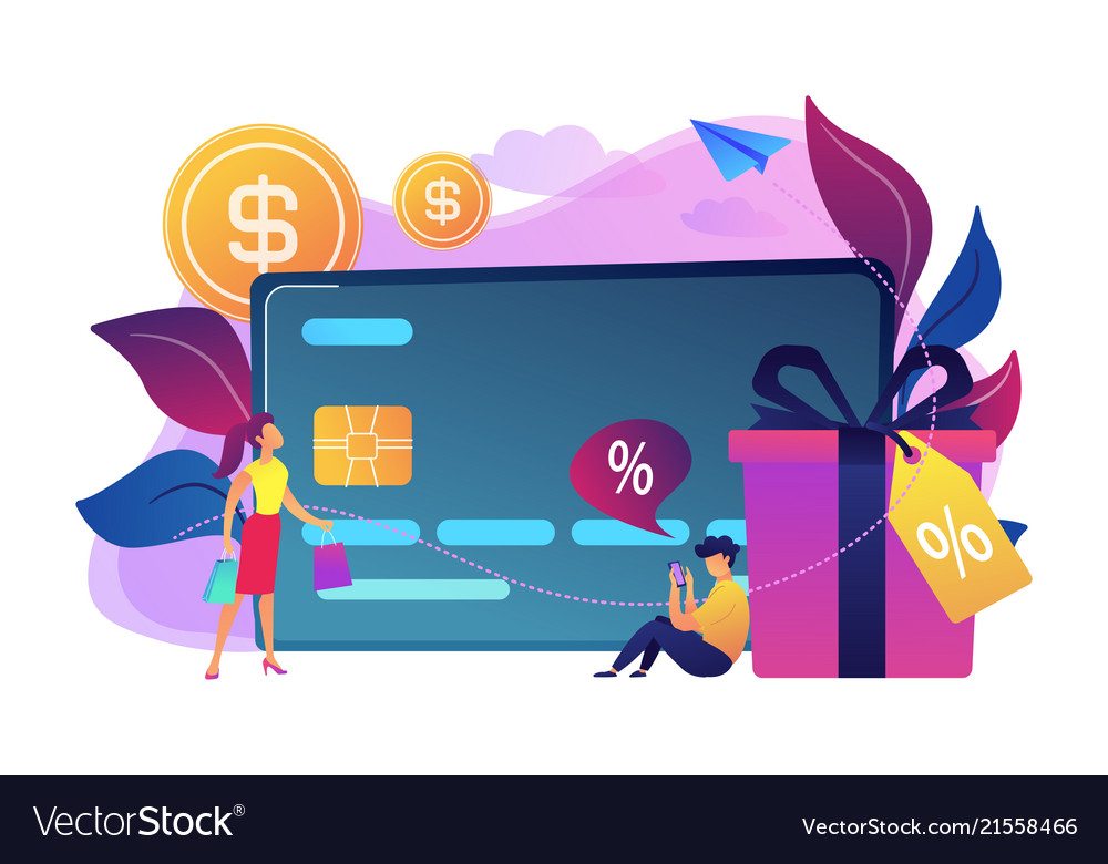 Debit card concept