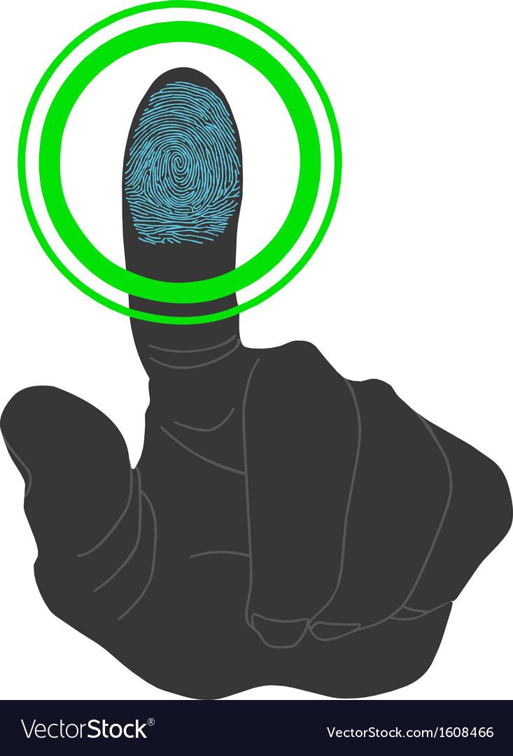 Fingerprint scan Touch