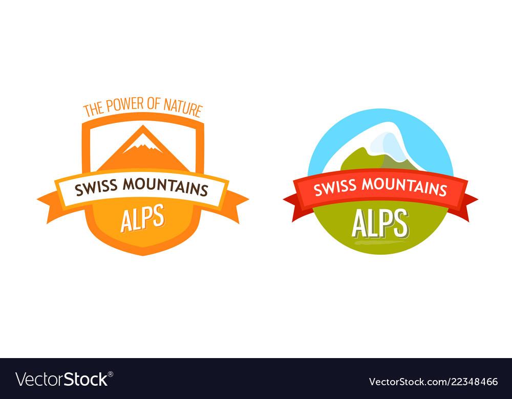 Logo of swiss alps