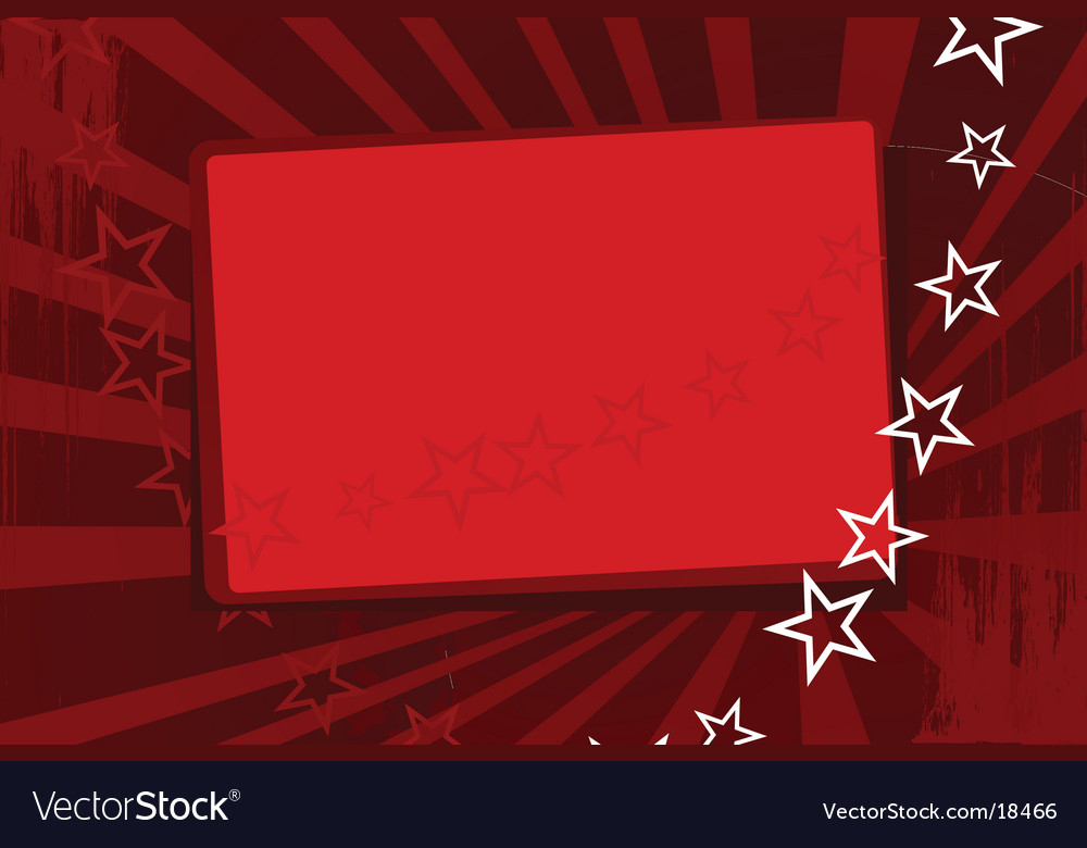 Red wallpaper with stars