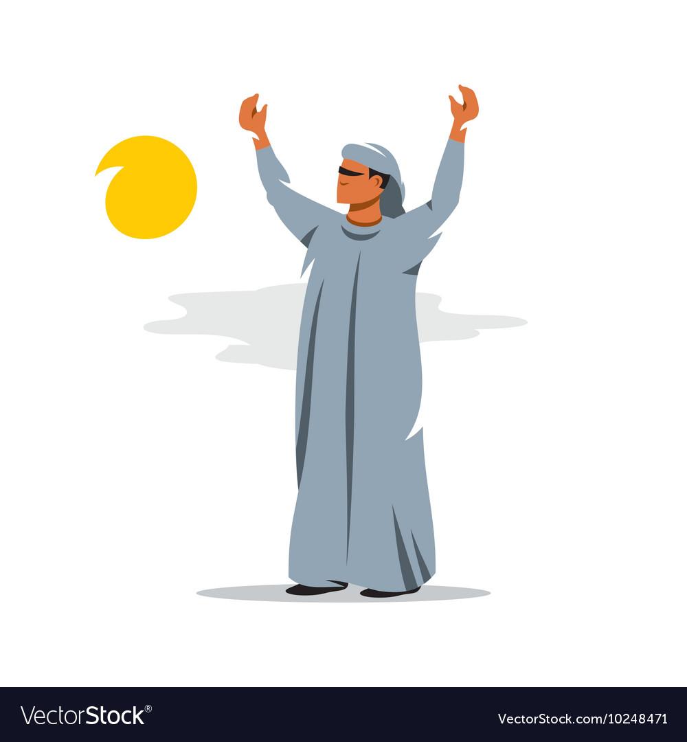 Arab Cartoon vector image