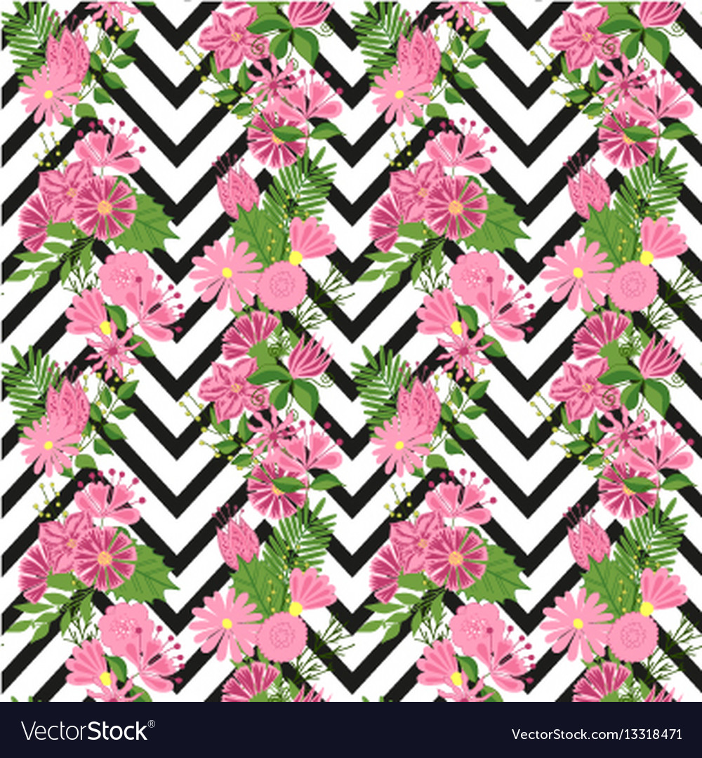 Beautiful seamless pattern in small abstract