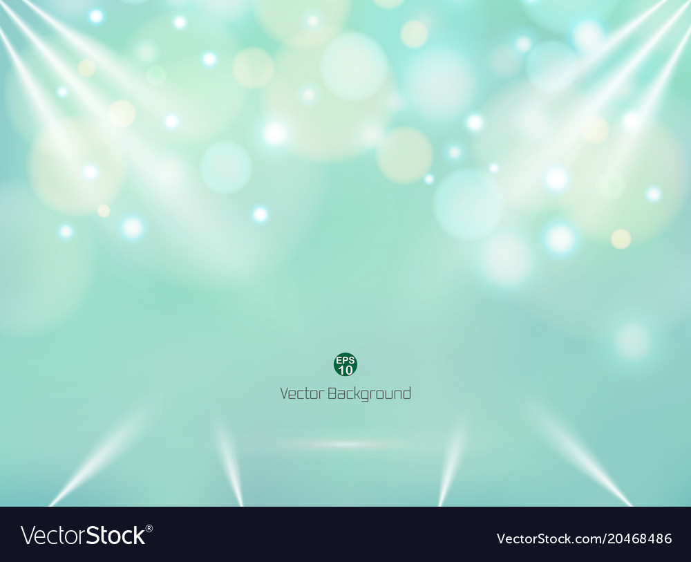 blending green mint color background with vector image