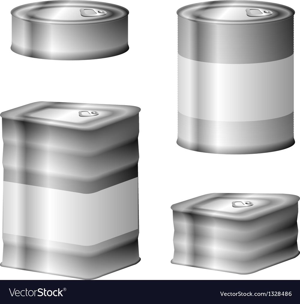 Tin conserve can set