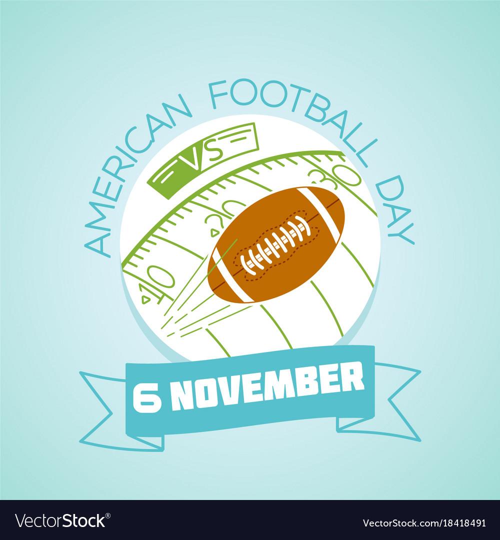 6 november american football day
