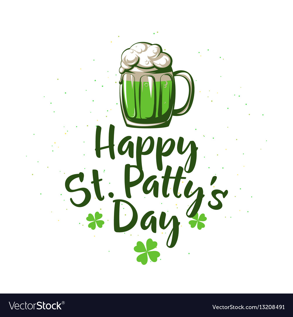 Happy patricks day vector image