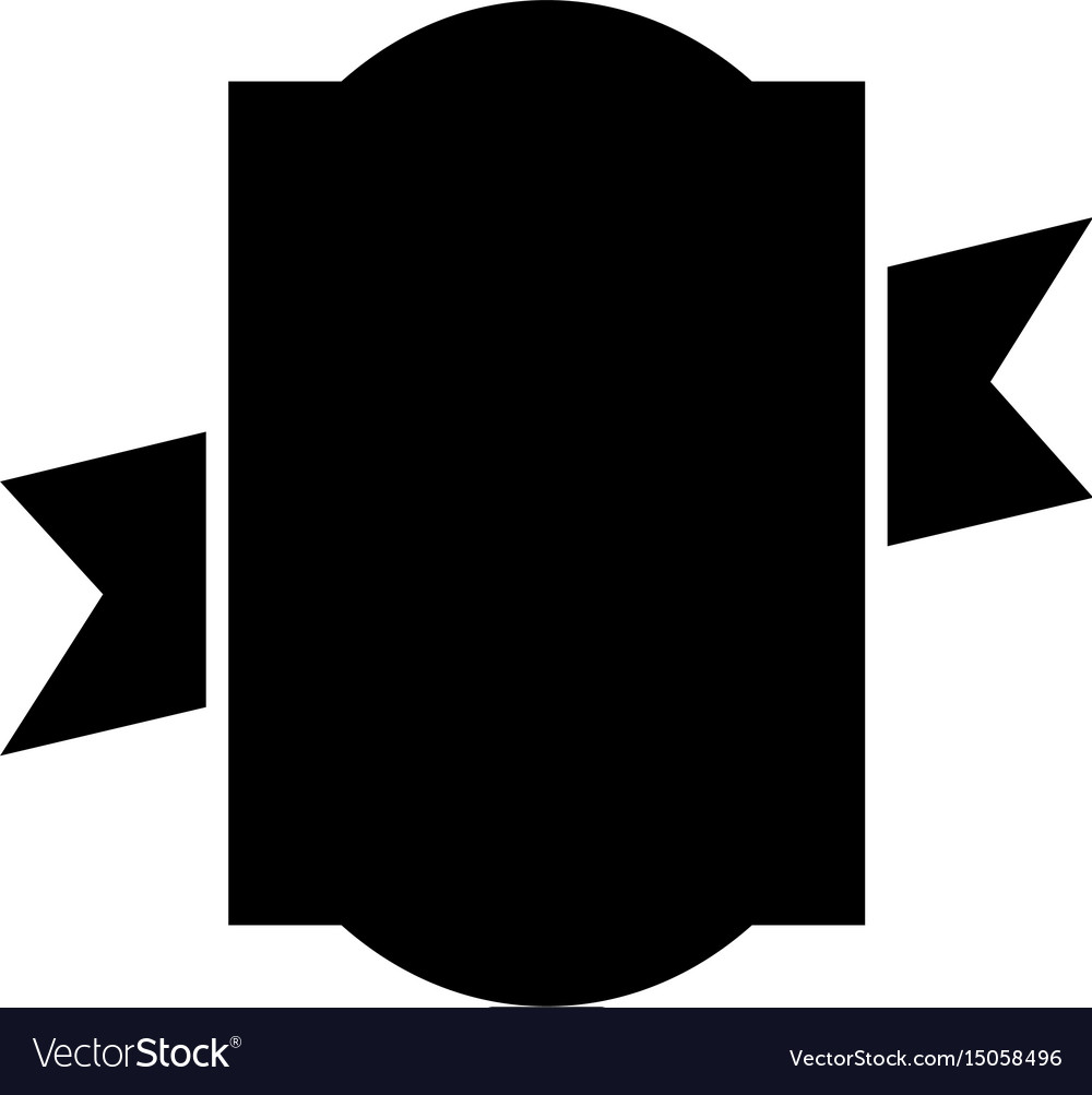 Black icon emblem