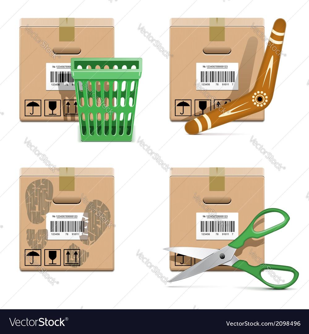 Shipment Icons Set 33
