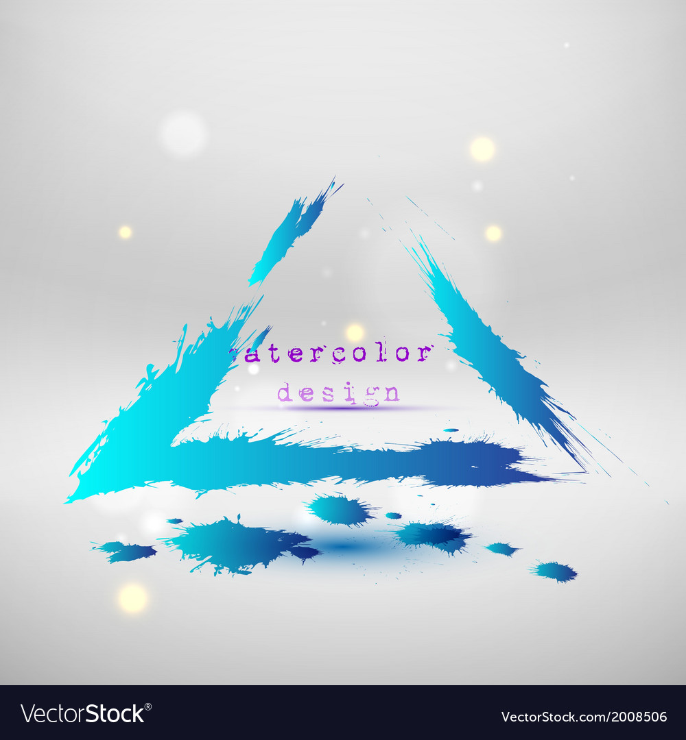 Blue colored wave design Abstract background