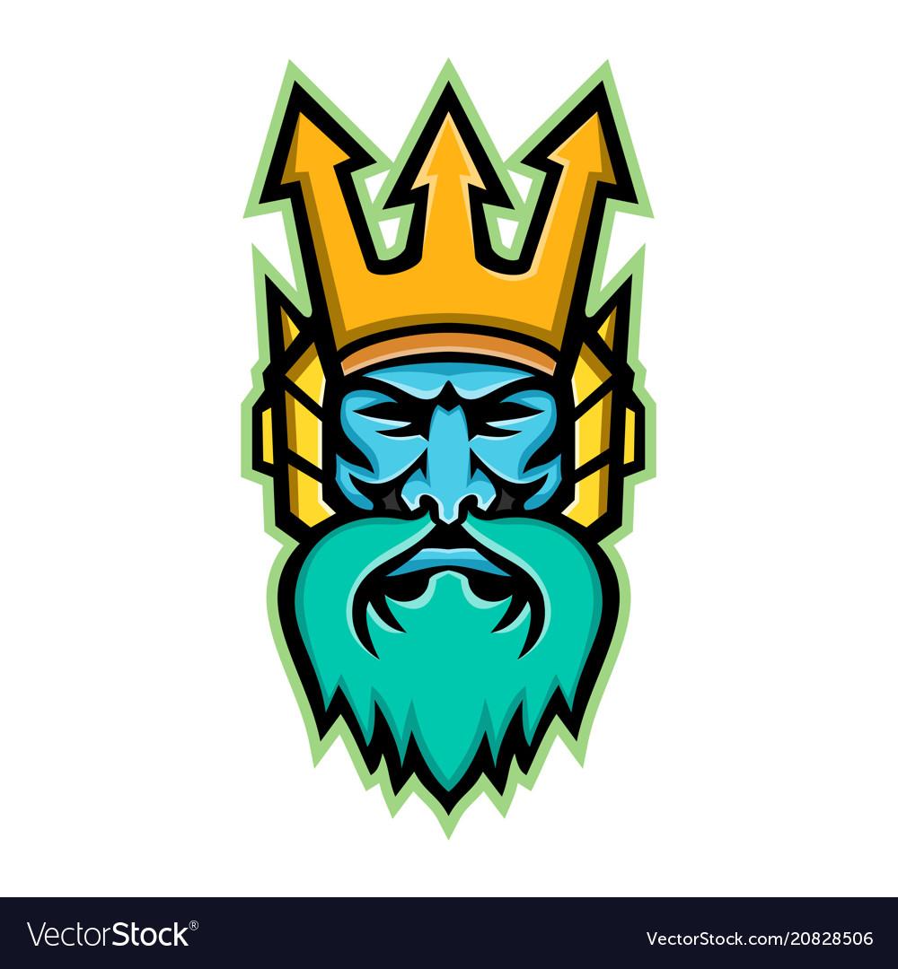 Trident Poseidon Neptune Crown Vector Images 30