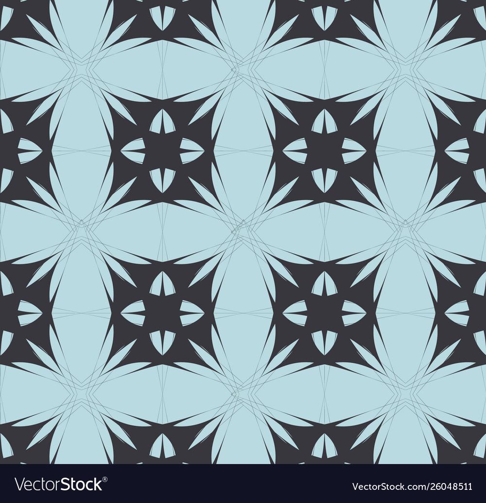 Blue black mosaic pattern modern contrast