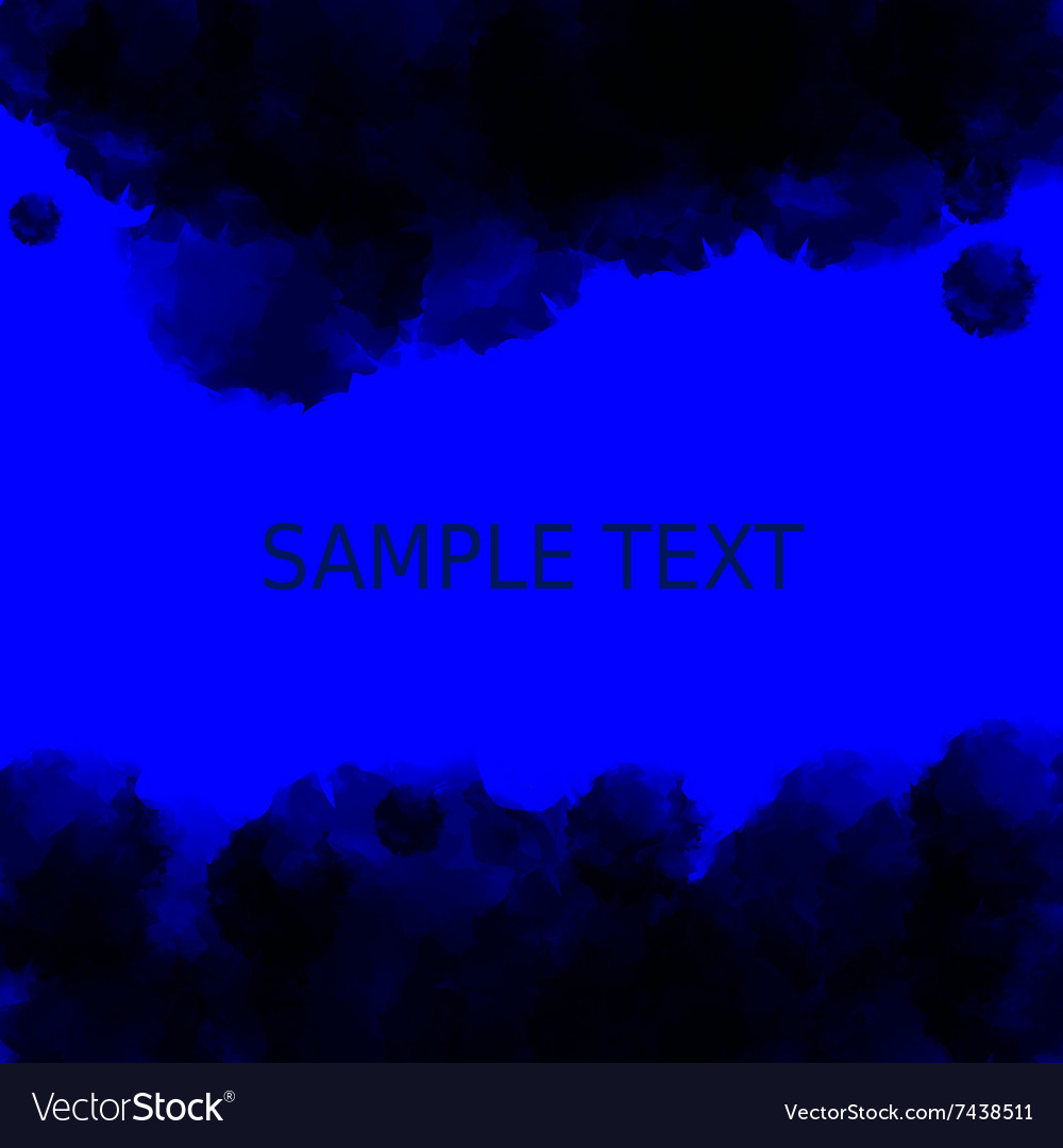 Dark blue deep water background Abstract