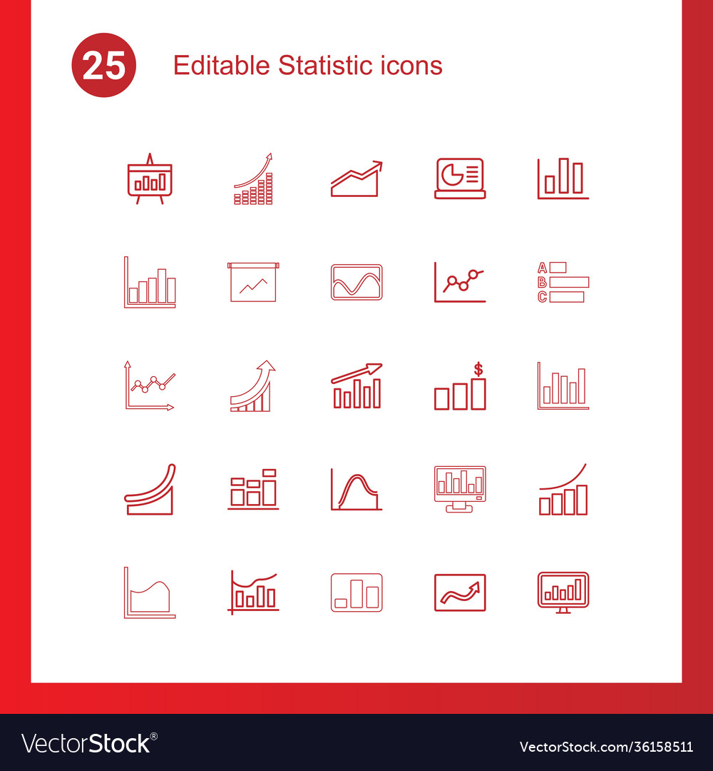 Statistic icons