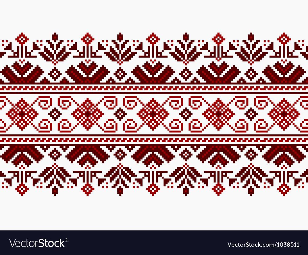 ukrainian pattern ornament royalty free vector image rh vectorstock com ornament vector eps ornament vector gratuite